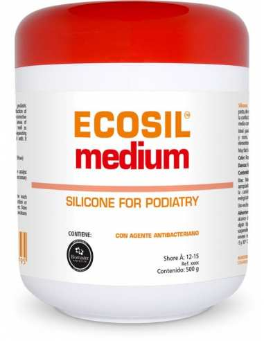 Silicone Ecosil Medium - Shore 12-15 ~ HERBITAS ~ Orthèses