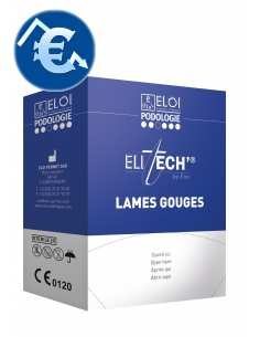 "Lames gouges ""Elitech by..."
